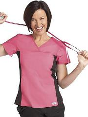 324T/312P Mobb Flexi and Slim Fit  Nursing Scrub Set (with Black Pants)