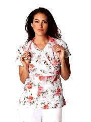 346PR-SPT Koi Felicite Scrubs Spring Bouquet <br>Spring 2017 FINAL SALE *small*