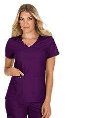 373 Koi Basic Becca Scrub Top <br>Microfiber Stretch