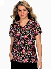 384PR-GNO Koi Basic Scrubs Leslie Top Garden Gnome <BR>Summer 2021
