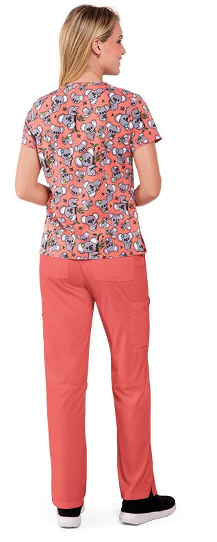 384PR-KOE Koi Basic Scrubs Leslie Top Koala Express<BR>FINAL SALE