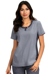 388 Koi Lite Lotus Scrub Top