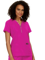 398 Koi Basic Marie Scrub Top