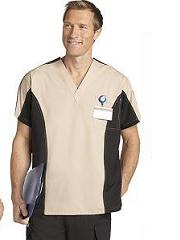 409/409 Men Two Tone Scrub Set (Regular 31'' & Tall 36'' inseam)