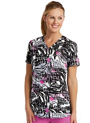 GA41386-BRT Grey's Anatomy Top Brilliant Tiger<br> SUPER SOFT<br> FINAL SALE