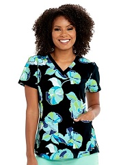 GA41386-GAPB Grey's Anatomy Top POPPY BLOSSOM