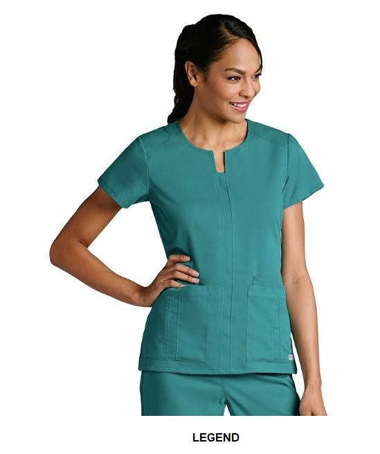 GA41445 Grey's Anatomy Scrub Top <br>FINAL SALE