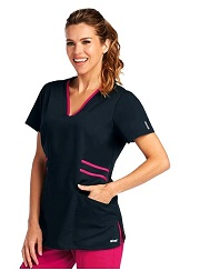 GA41458 Grey's Anatomy Marquis Scrub Top *FINAL SALE* (XXS-5XL)