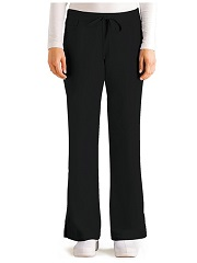 GA4232 Grey's Anatomy Elastic Back Tie Front Pants <br>XXS - 5XL (Regular, Tall, Petite)