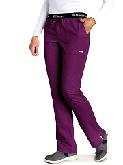 GA4275 Grey's Anatomy Active Logo Waist Band Pants  XS - 3XL (Regular, Petite)