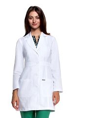 GA4419 Grey's Anatomy Perfect Slim Fitted <br>Lab Coat  XS-5XL
