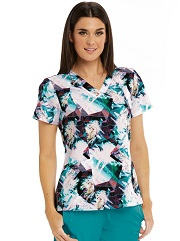 B5107-BOPB Barco One Scrub Top STRETCH <Br>*FINAL SALE- 3XL, 4XL*