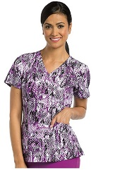 B5107-COB Barco One Scrub Top Cobra STRETCH <br>FINAL SALE (3X,4X)
