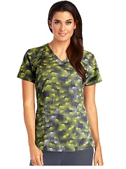 B5107-DGH Barco One Scrub Top STRETCH <Br>*FINAL SALE* (4XL-5XL)