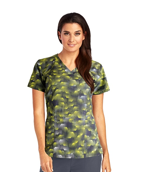 B5107-DGH Barco One Scrub Top STRETCH <Br>*FINAL SALE* (5XL)
