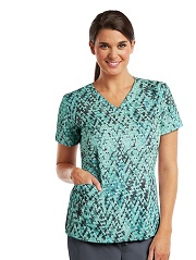 B5107-TLN Barco One Scrub Top STRETCH Trillion <br>FALL 2017 *FINAL SALE*