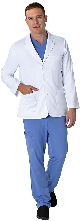 5150 Healing Hands Leo Lab Coats STRETCH <br>XXS - 5XL