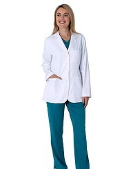 5160 Healing Hands Fio Lab Coats <br>STRETCH  <br>XXS - 5XL