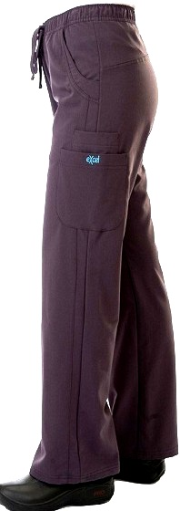 E610P Excel Scrub Pants Comfortable Wide Leg <br>(XXS - 2XL) *Stretch*