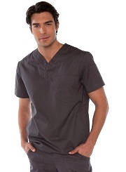 654 Koi Jason Men Scrub Top <br>(XS-3XL)