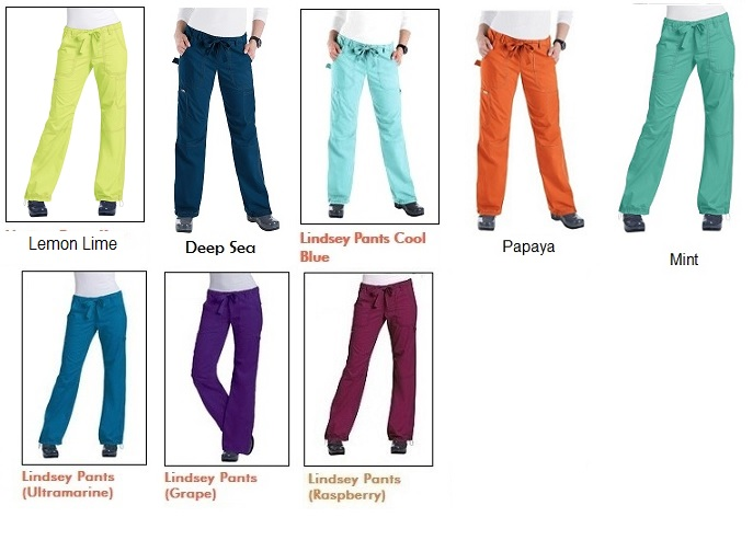 701 Koi Stylish Lindsey Scrub Pants (Regular, Tall, Petite) - XXS to 5XL