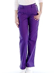 709 Koi Flat Front Slim Cut Zara Scrub Pants (Regular, Tall, Petite) - XS to 3XL