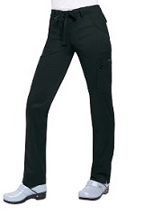 710LE Koi Skinny Lindsey Pants with Waist Print Trim<br>*Stretch* Black Only FINAL SALE