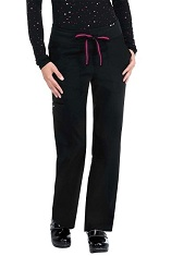 713LE Koi Morgan Pants with Contrast Trim <br>*Yoga Style Knit-Waist* <br>XS - 3XL FINAL SALE