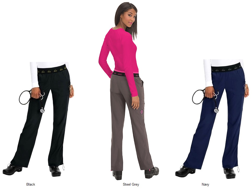 720 Koi Lite Scrub Pants Spirit Comfort <br>Black/Navy/Grey<br> STRETCH FINAL SALE