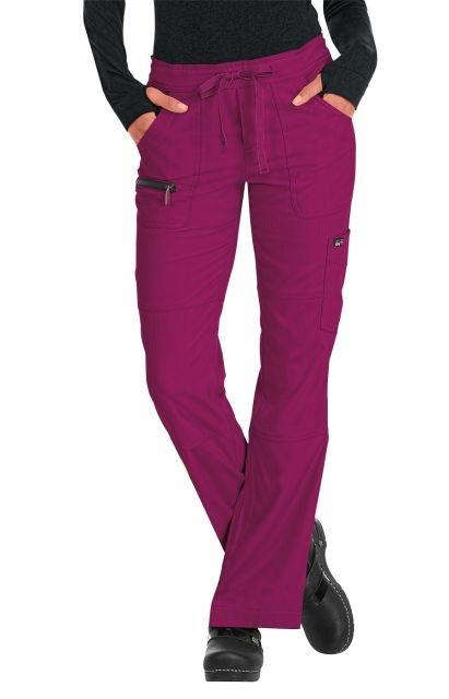721SALE Koi Lite Scrub Pants Peace <br>Raspberry<br> STRETCH FINAL SALE (Regular, Petite, Tall)