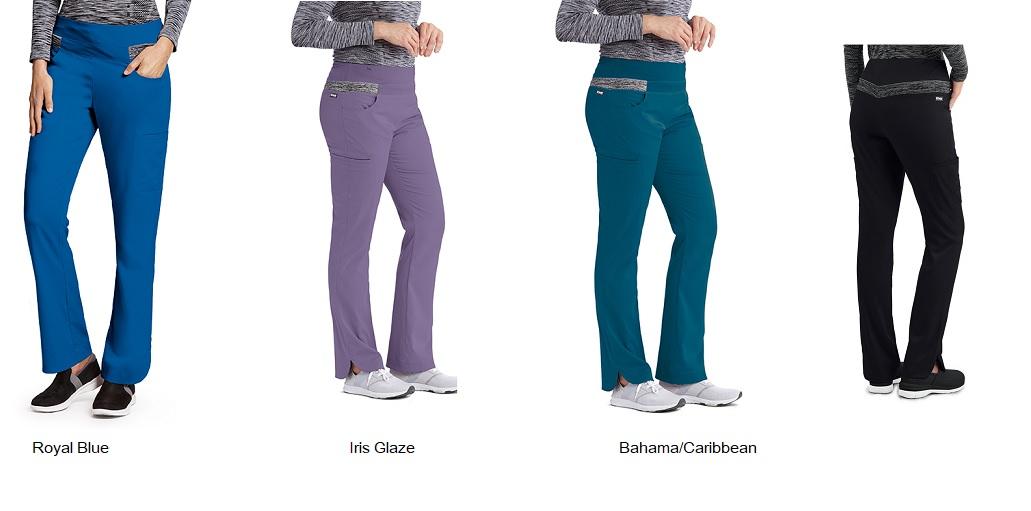 GA7227 Grey's Anatomy IMPACT Harmony Scrub Pants  *Athletic Design* FINAL SALE