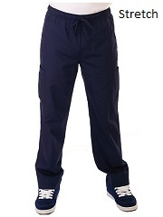 E727P Excel Men Scrub Pants (XS - 2XL) *Luxuriously soft fabric Stretch*