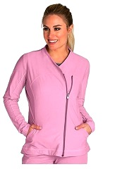 GA7445 Grey's Anatomy IMPACT Jacket *Dupont SORONA Performance Fabric - Athletic Design* CASHMERE ROSE FINAL SALE