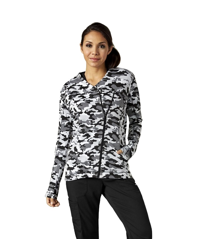 GA7448-ICJ Grey's Anatomy IMPACT Jacket *Dupont SORONA Performance Fabric - Athletic Design* Impact Camo FINAL SALE