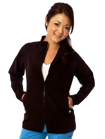 E805J Excel Two-Ways Zipper Jacket  <br>(XS - 2XL) *Stretch*
