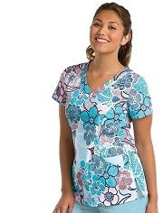 8107-MDO KD110 Scrub Top Mod STRETCH  <br>FINAL SALE