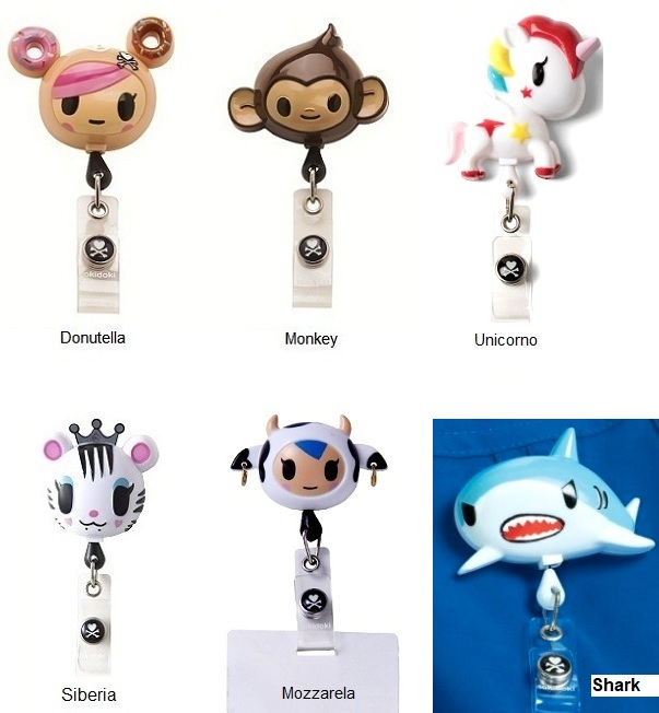 A100 Retractable Batch Holder <br>Tokidoki & Koi