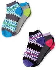 A107 Koi Ankle Socks <br>(Set of Two)