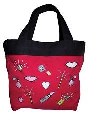 A113 Koi Canvas Tote Bag <BR>FINAL SALE