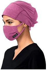 A161 Koi Surgical Hat STRETCH Unisex<br>Washable - Available in 3 Colors (Black, Grey, Pink)
