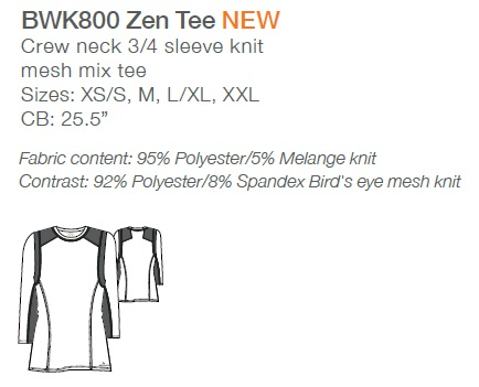 BWK800 Barco One Wellness Zen Tee <br>Bio-Mineral Infused