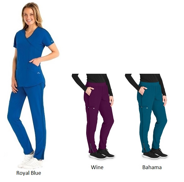 BWP505 Barco One Wellness Scrub Pants <BR>Regular/Petite/Tall <br>Bio-Mineral Infused
