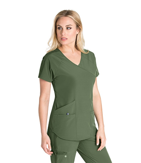 BWT008 Barco One Wellness Scrub Top <br>Bio-Mineral Infused