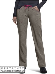 CK030A Cherokee  Low-Rise Straight Drawstring Pants<br> *Certainty Antimicrobial Stretch*