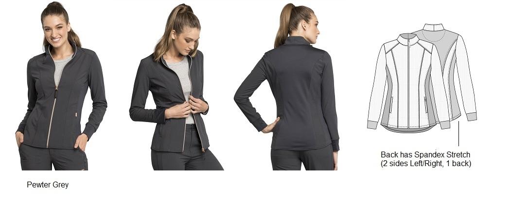CK365 Cherokee Statement Zip Front Jacket