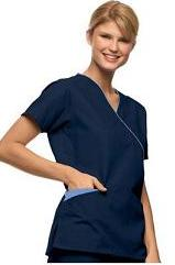 CS002 Nursing Scrubs Sets (Top + Pants)-Back Tie <br> Final Sale