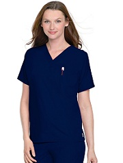D001 Scrub Unisex Set (Top+Pants) <br>65% Poly / 35% Cotton <br>XS-2XL <BR>FINAL SALE *BLACK*