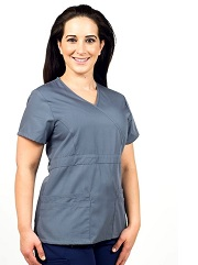 KW112T Klik Fit Dubai Scrub Fitted Top