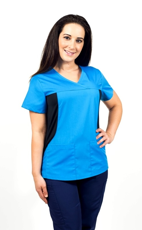 KW120T Klik Fit Vienna Stretchable Scrub Top