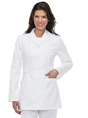 G3400 Orange Hampton Lab Coat <BR> XS - 3XL